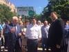 Воробьев осмотрел пешеходную зону в Долгопрудном
