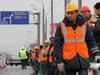 Путепровод около станции Хлебниково в Долгопрудном построен на 25%