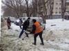 В Долгопрудном снег чистят около 20 единиц техники