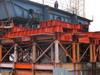 На путепроводе платформы «Водники» в Долгопрудном установлено более половины опор